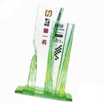HA-367彩透琉璃獎座
